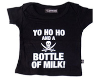 Yo Ho Ho and a Bottle of Milk - Baby T-shirt
