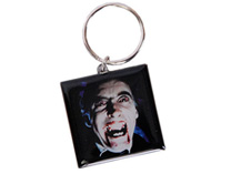 Dracula Face Key Ring