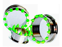 UV Spike Tunnels, Green